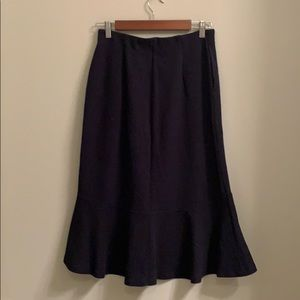 Uniqlo formal cocktail skirt